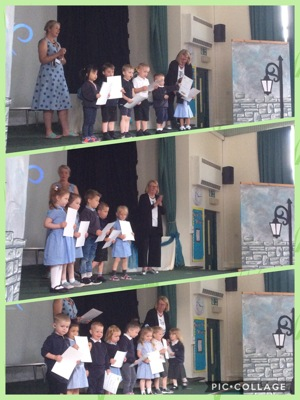 Prize giving assembly!